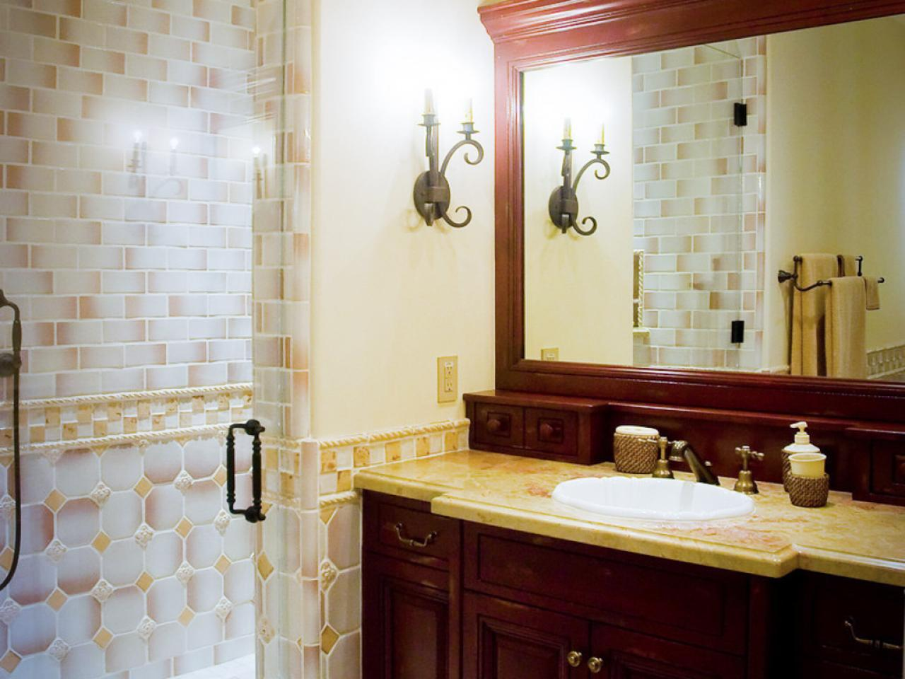 granite bathroom countertop options - Granite Bathroom Designs