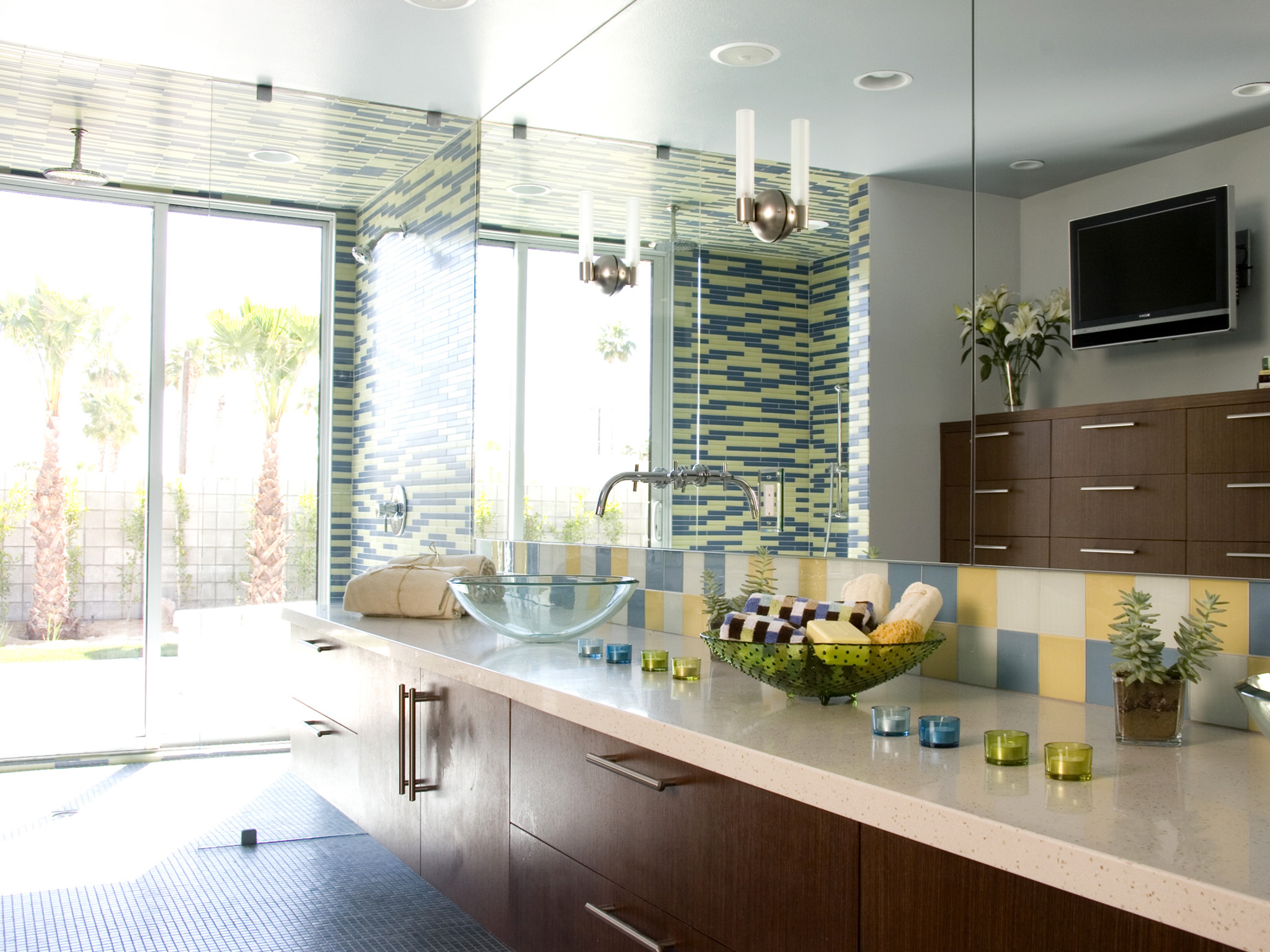 Beautiful Small Corner Mirror Bathroom Cabinet Small Large Bathroom Wall Tiles Uk Round Bathroom Vanities Toronto Canada Bathroom Mirrors Frameless Old Master Bath Tile Design Ideas SoftBath And Shower Enclosures Corian Countertop Prices For Bathrooms | HGTV