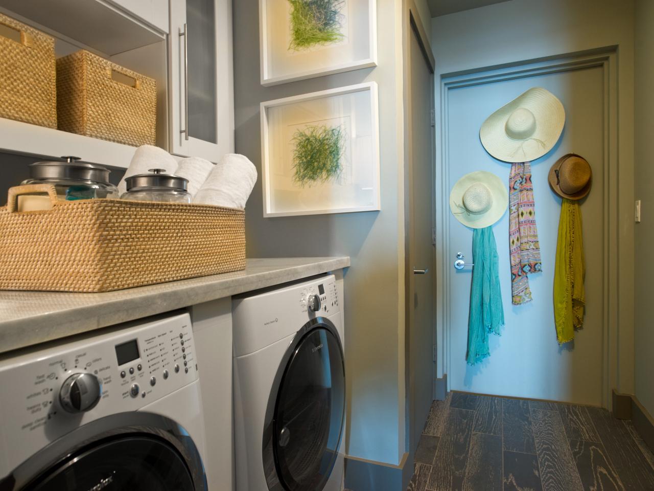 laundry room makeover ideas - Laundry Storage Ideas