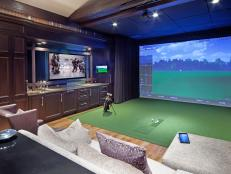the disappearing media room. Interior Design Ideas. Home Design Ideas