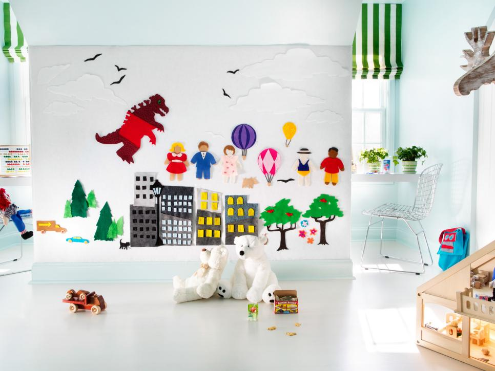 45 SmallSpace Kids Playroom Design Ideas HGTV