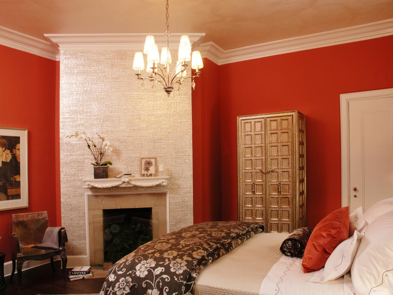 cheerful purple bedroom - Bedroom Colors Red