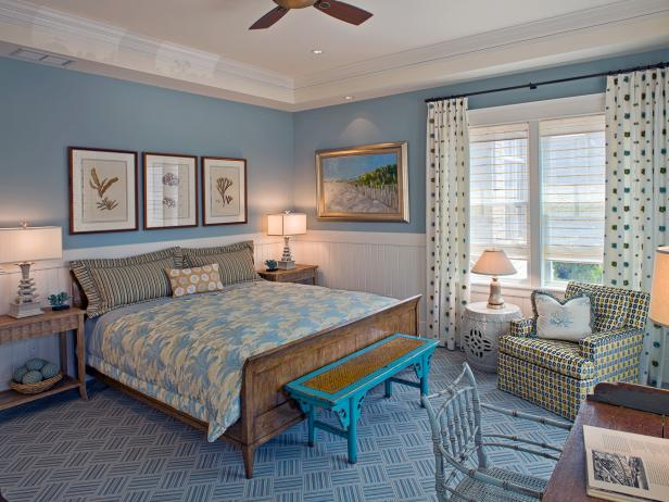 Blue Master Bedroom Ideas | Hgtv