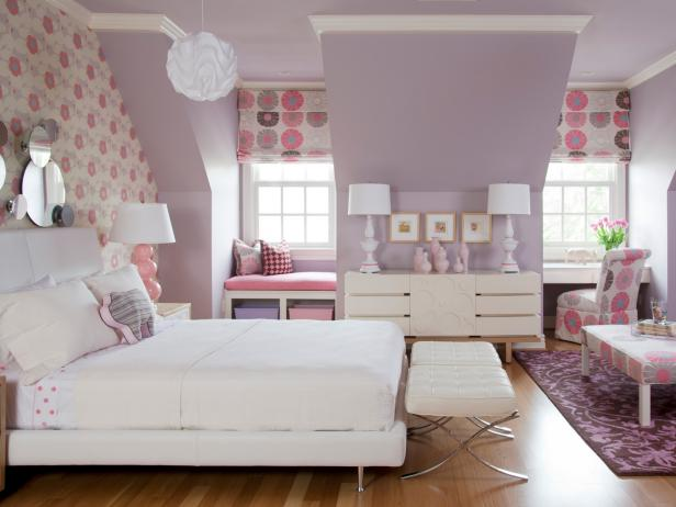 Original TobiFairley Summer Color Flirty Pink Kids Room 4x3. Bedroom Wall Color Schemes  Pictures  Options   Ideas   HGTV