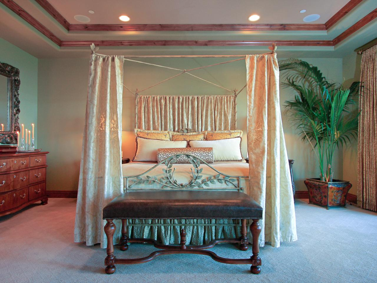 Tray Ceilings in Bedrooms