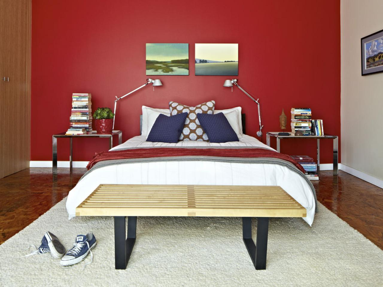 red bedrooms - Bedroom Colors Red