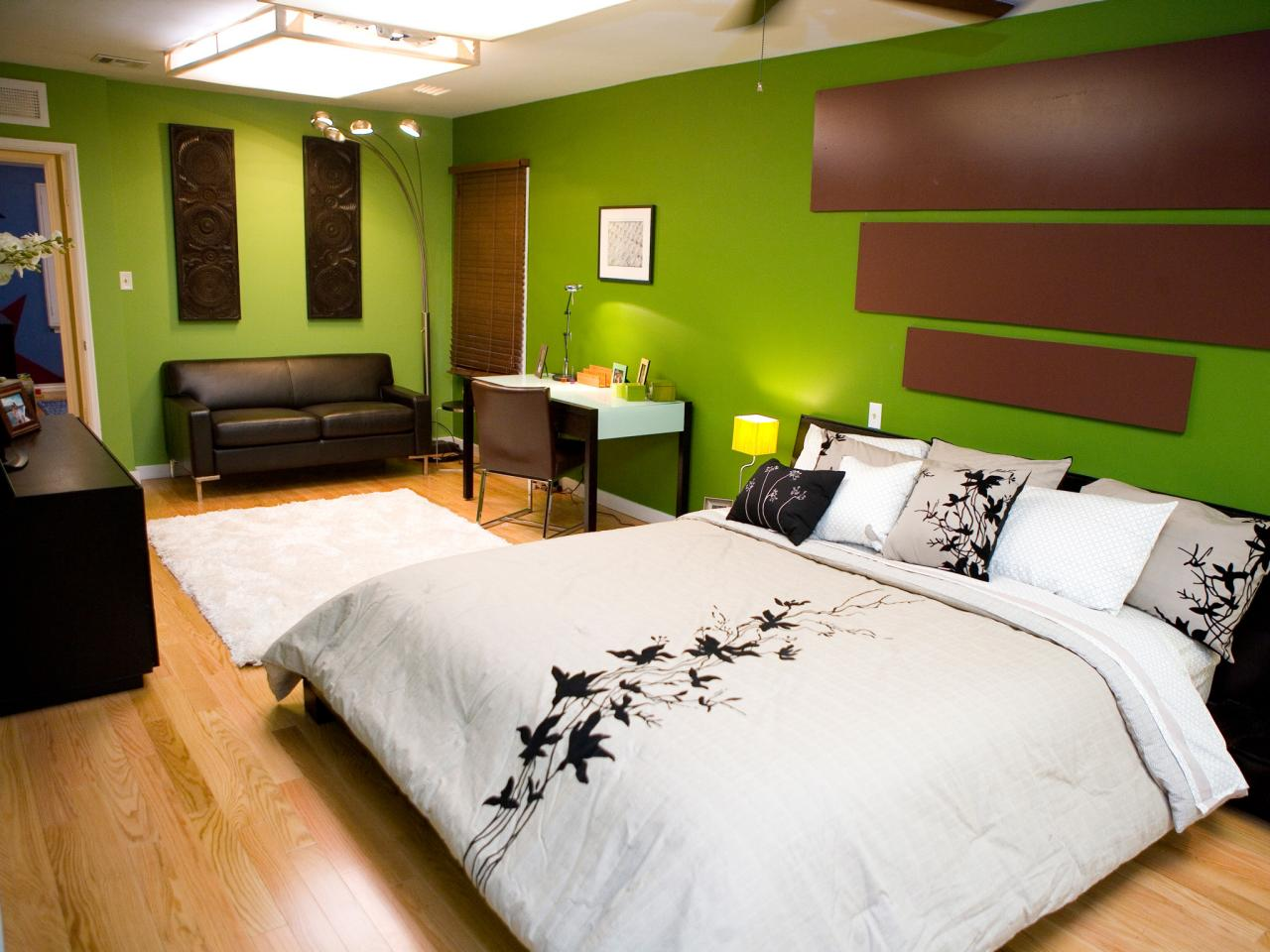 bedroom paint color ideas - Bedroom Paint And Wallpaper Ideas