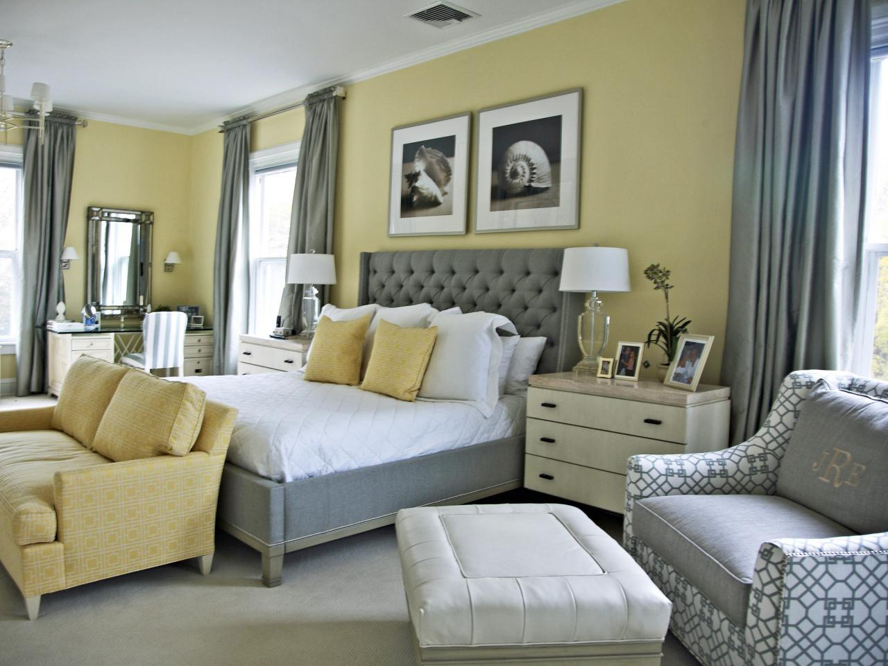 Painting Living Room Gray Master Bedroom Paint Color Ideas Hgtv