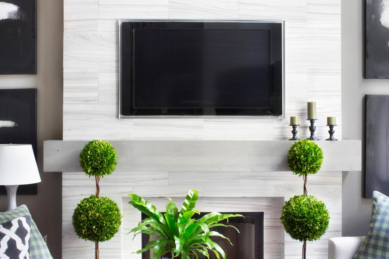 Make a Modern, Floating Wood Mantel | Home Remodeling - Ideas for ...