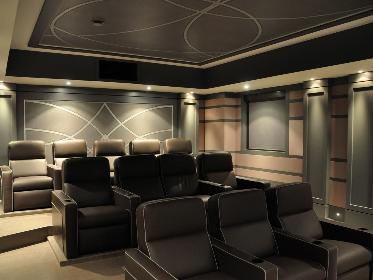 High End Home Theaters Pictures Options Tips Amp Ideas Hgtv