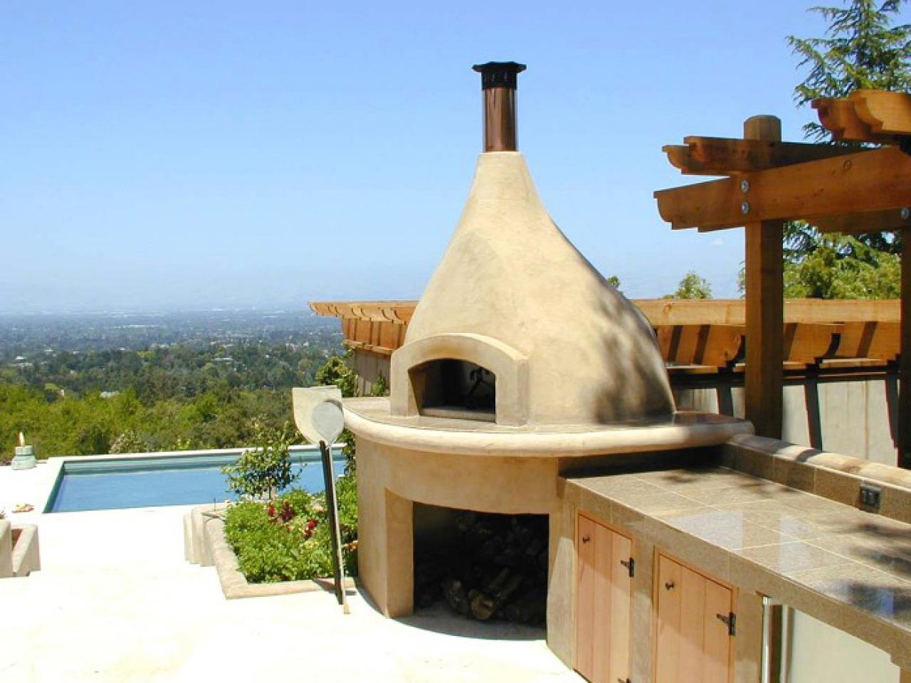 Pizza Oven Outdoor Kitchen Luxury Outdoor Kitchens Pictures Tips Expert Ideas Hgtv
