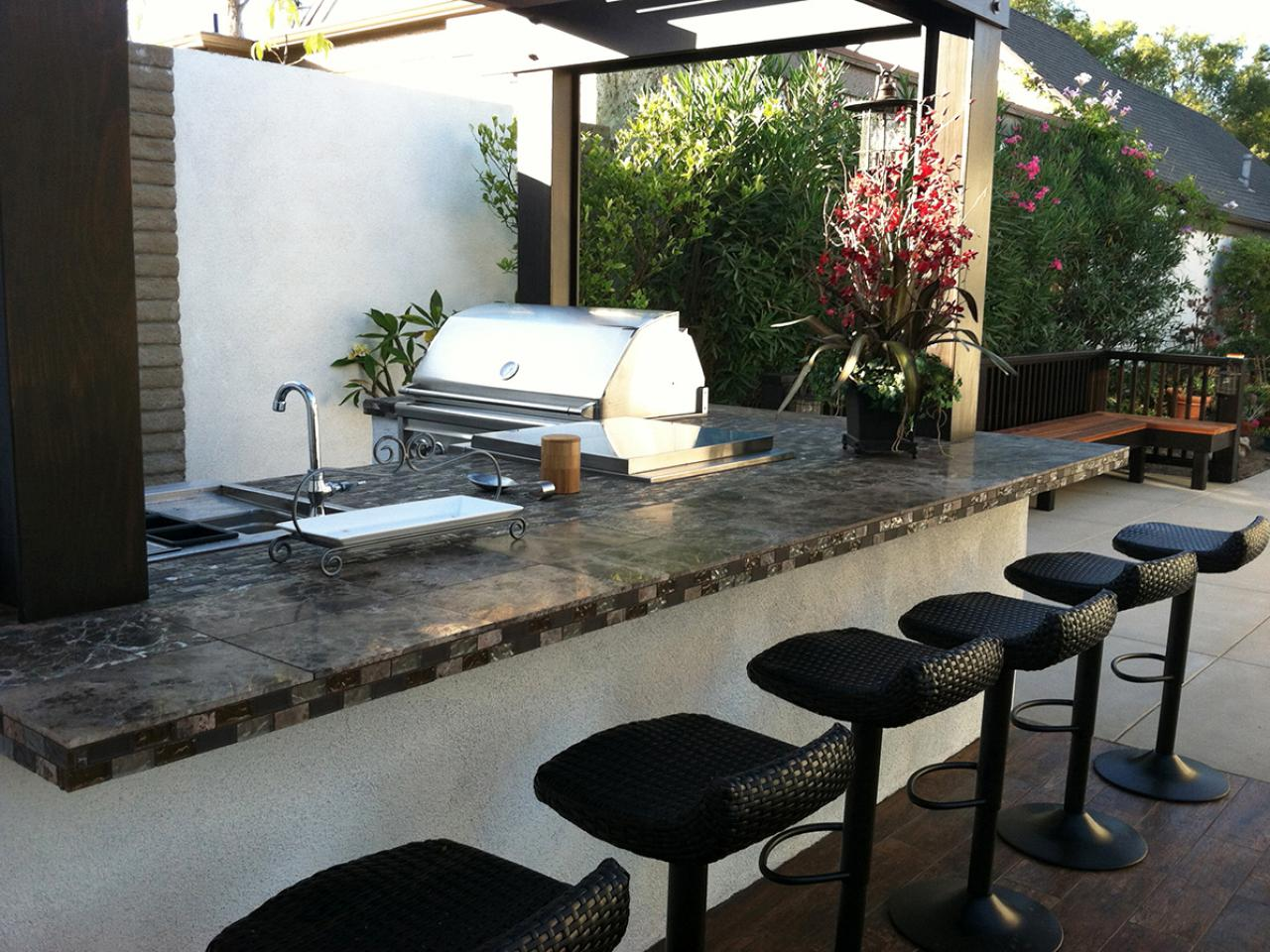 Outdoor Grill Design Ideas outdoor kitchen design ideas Outdoor Kitchen Design Ideas Pictures Tips Expert Advice Hgtv