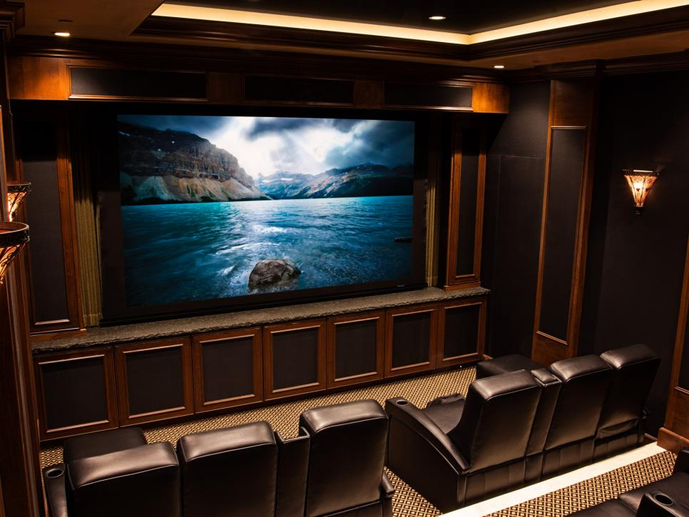 13 HighEnd Home Theater Designs HGTV