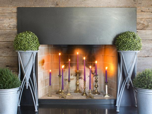 Off-Season Fireplace Styling Tips