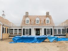 Explore Cape Cod-style details and get design inspiration from HGTV Dream Home 2015.