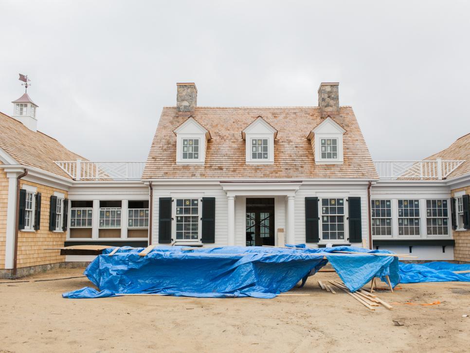 Transformation of hgtv dream home 2015 building hgtv for Cape cod builder