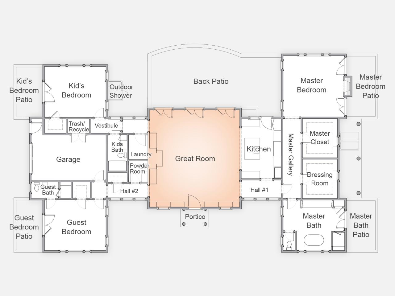 Buy 2015 hgtv sweepstaken home design plans autos post for Dream house blueprints