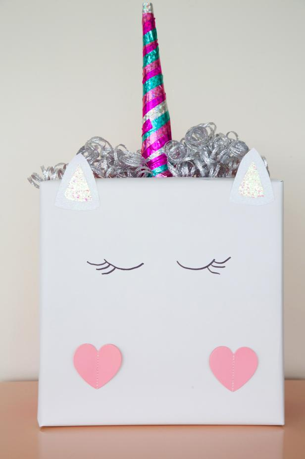 Valentine's Day Unicorn Box