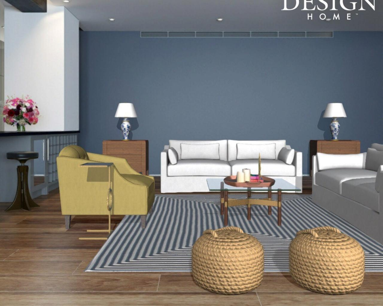 Be an interior designer with design home app hgtv 39 s for Decorating a house