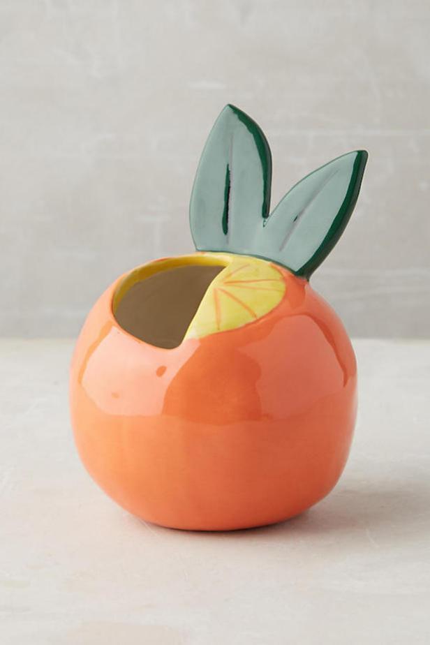 Anthropologie Clementine Fruit Pot