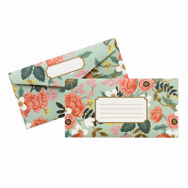 Floral Envelopes