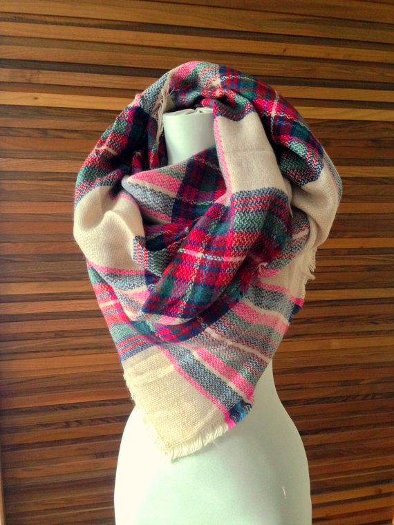 Bridesmaid Gift Idea: Blanket Scarf
