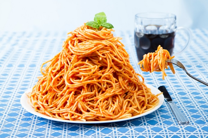 Big Plate of Spaghetti
