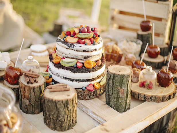 Country Wedding Desserts