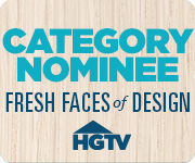 Vote for my designs in the HGTV Fresh Faces of Design Awards!