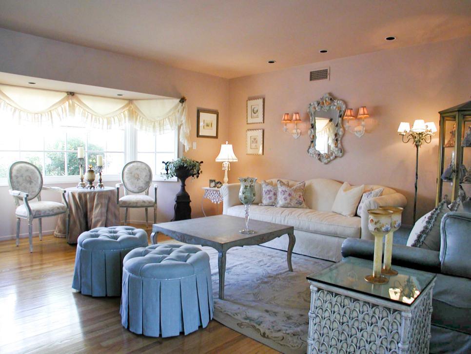 17 Shabby Chic Living Room Photos