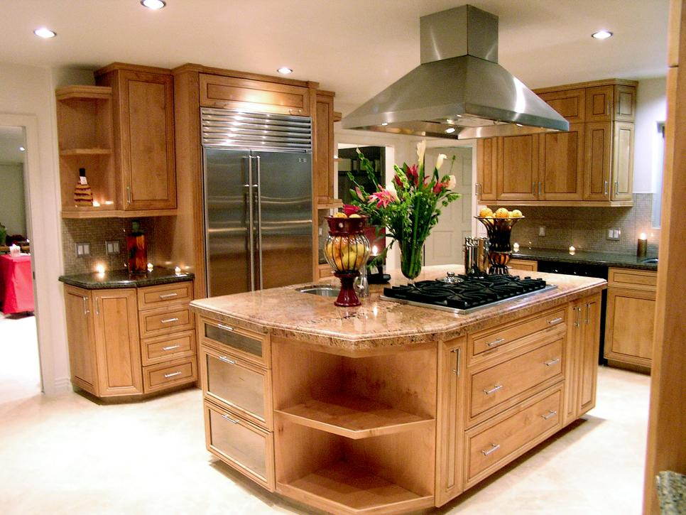 7 stylish kitchen islands hgtv for Kitchen designs island
