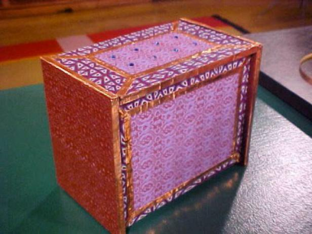 Inlay Designs In Clay : Clay inlay boxes hgtv