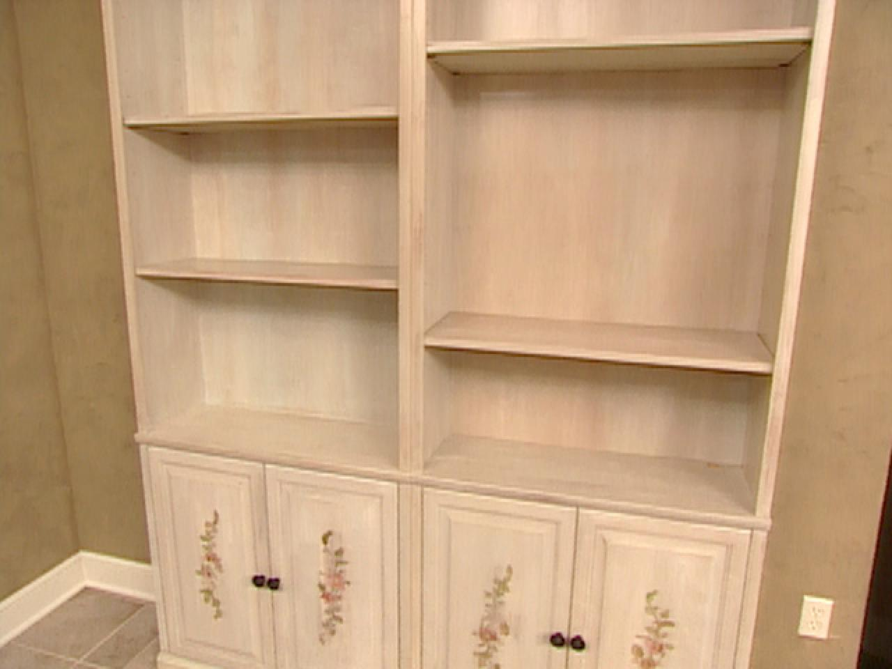 Staining and Painting Unfinished Bookcases – Bookcases Unfinished
