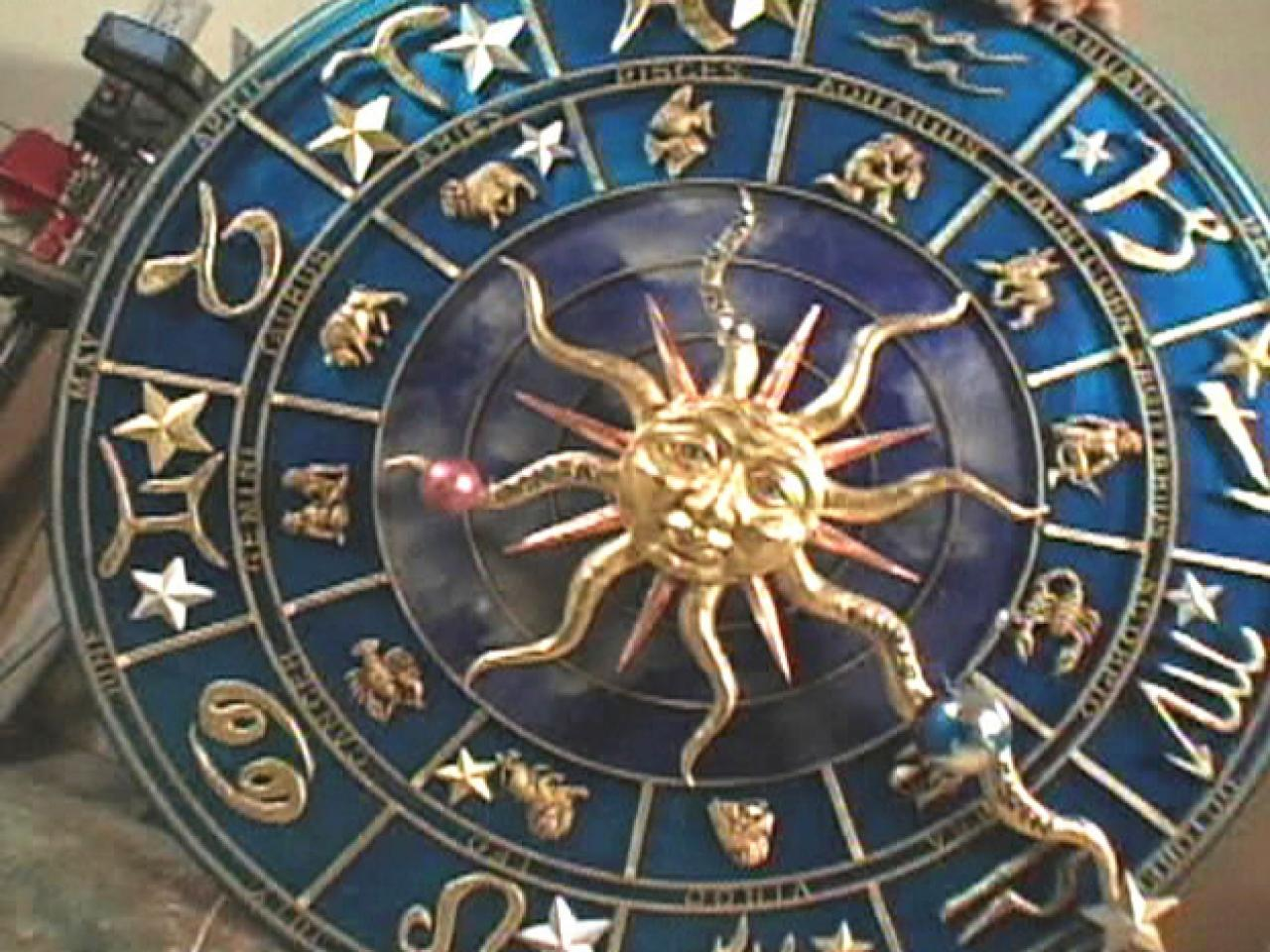 Astronomical Wall Clock Hgtv