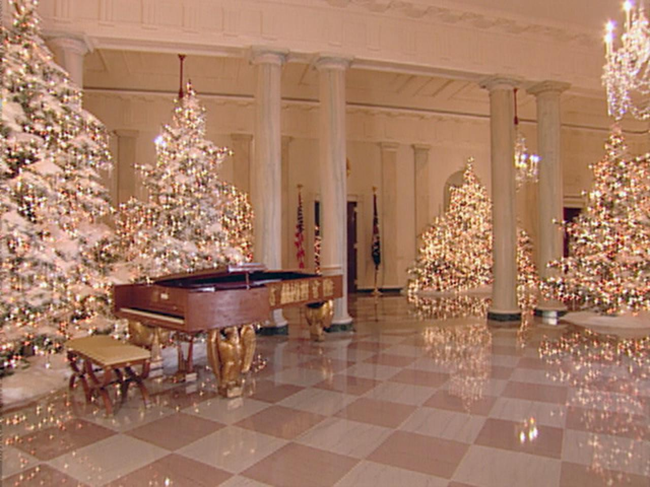 Grand Foyer White House : White house christmas through the years a presidential