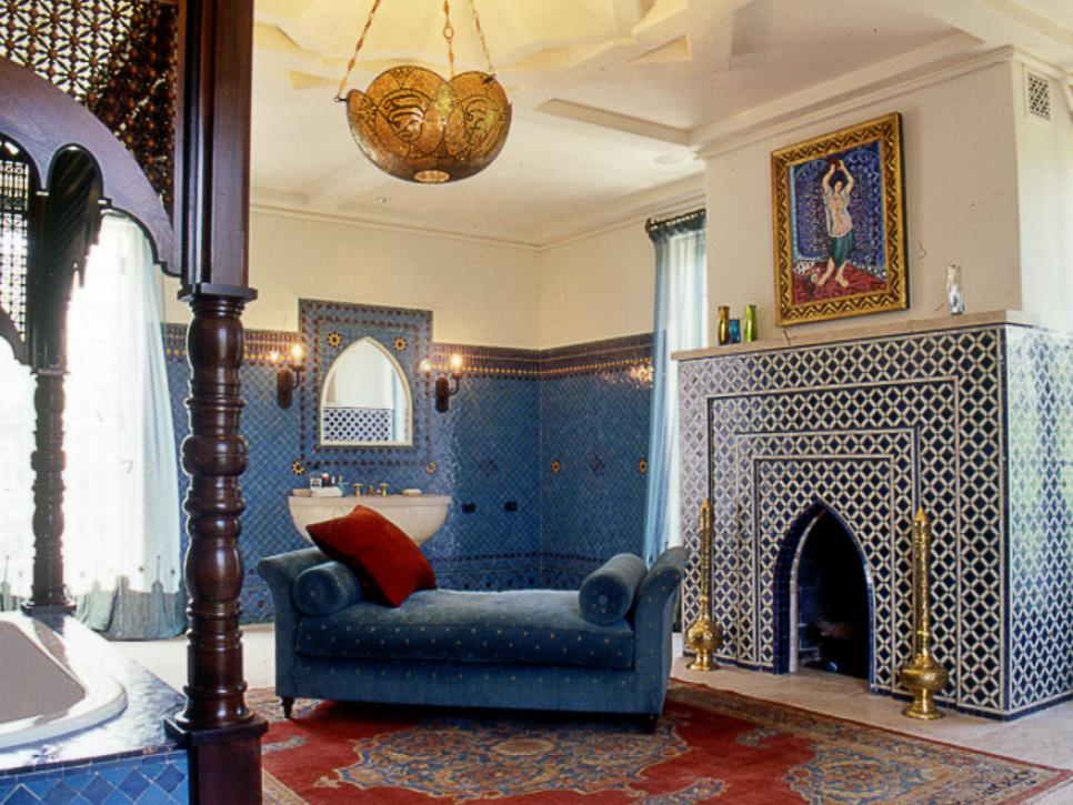 Moroccan Bedroom Ideas moroccan decor ideas for home | hgtv