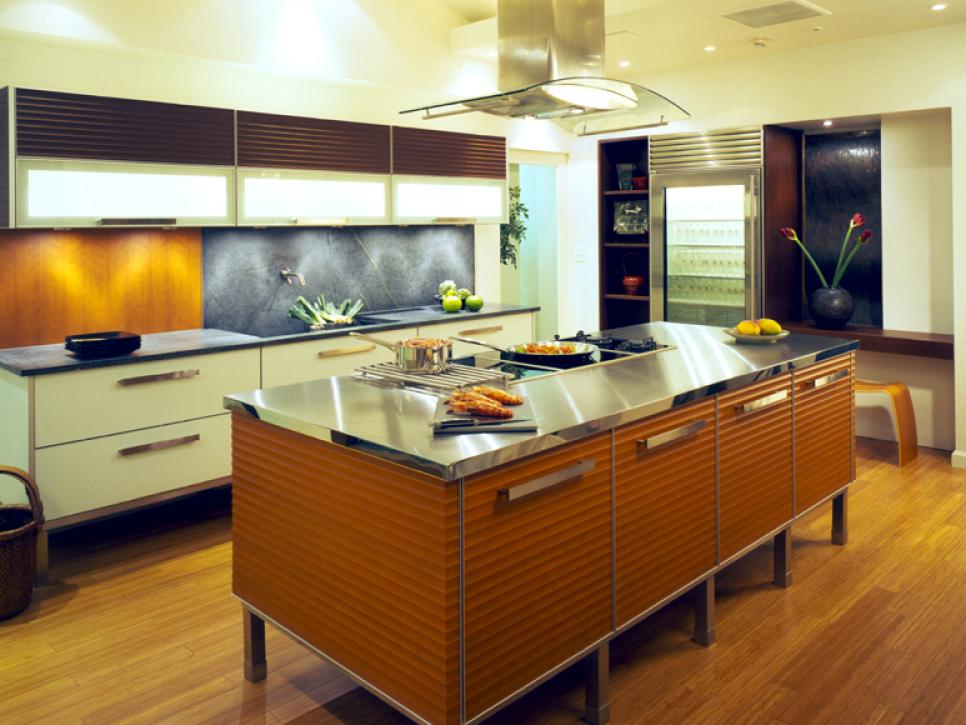 Asian Influence Kitchen Design