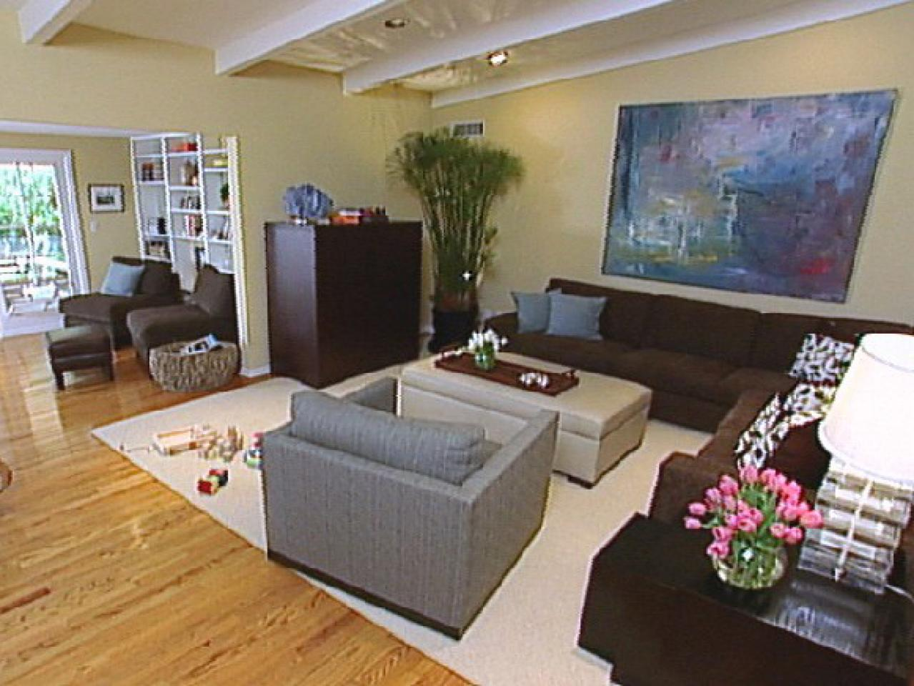 Hgtv gives the details on contemporary decor hgtv for Living room design styles