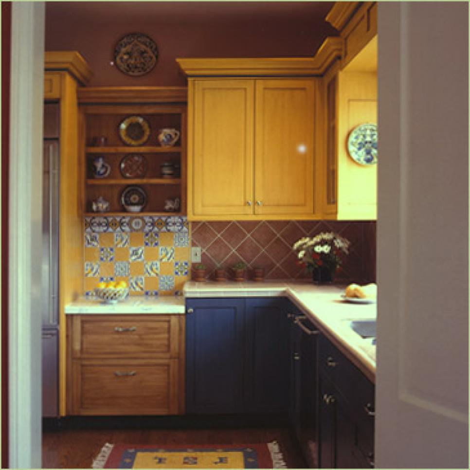 Kitchen Cabinets Colours: HGTV's Best Pictures Of Kitchen Cabinet Color Ideas From
