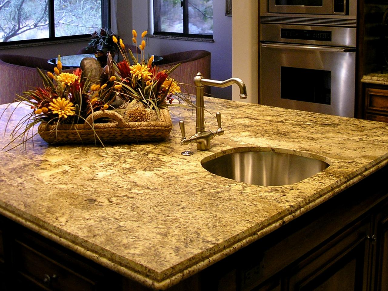 Granite countertops most popular favorite - Top Line Gourmet Kitchen