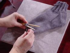 Knitting Socks 101 Heel Cuff And Toe Tips Hgtv