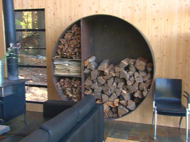 Pretty Firewood Storage Ideas Diy Network Blog Made