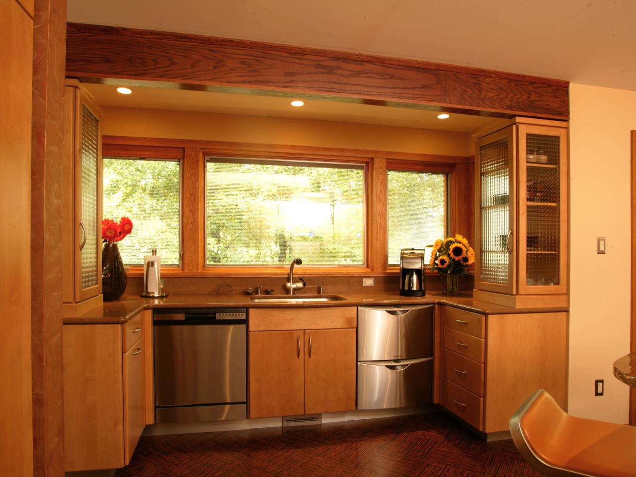 Small Kitchen Window Treatments Hgtv Pictures Amp Ideas Hgtv