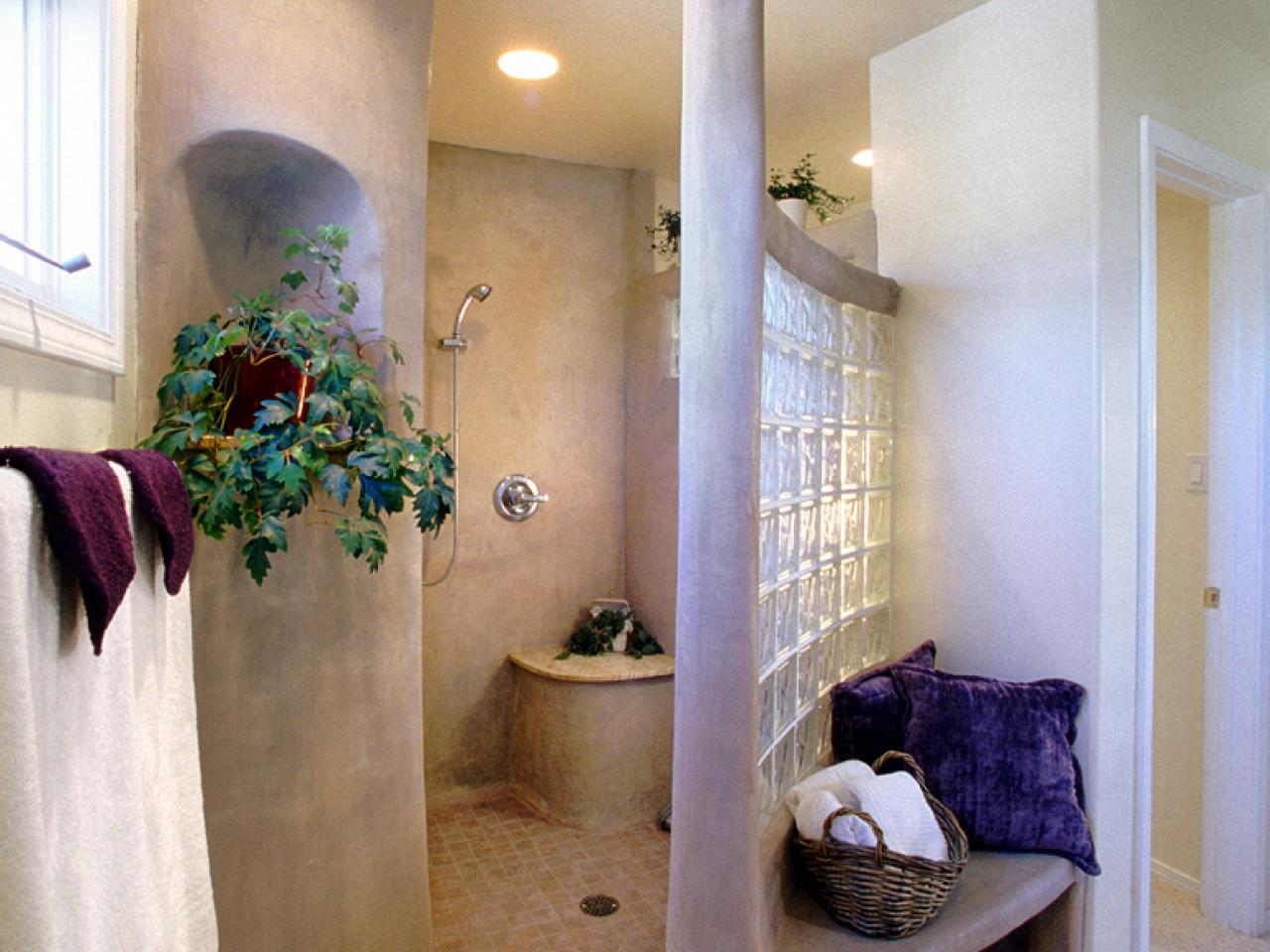 Spanish Style Bathroom Decorating Ideas: Beautifully Designed Adobe Home Bath