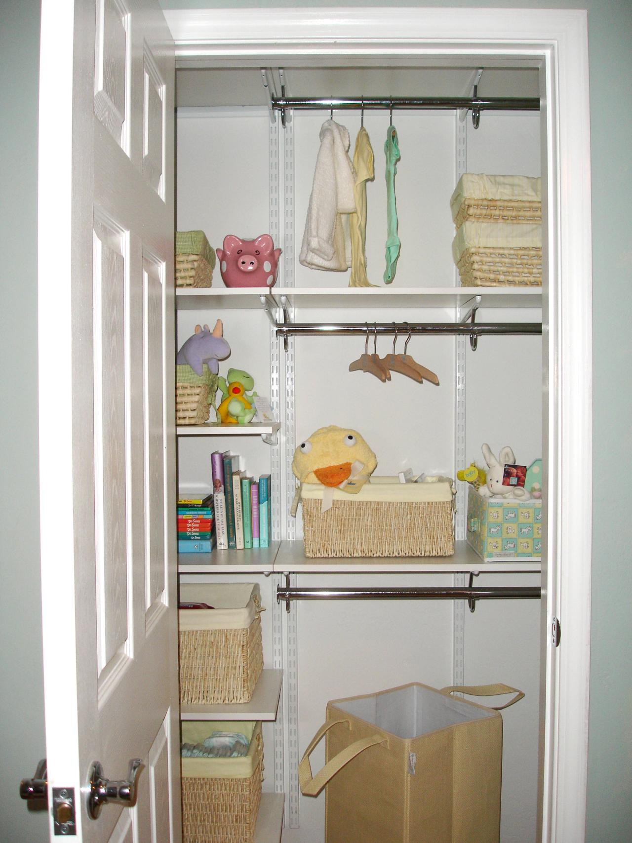 The organized nursery hgtv for Baby organizer ideas
