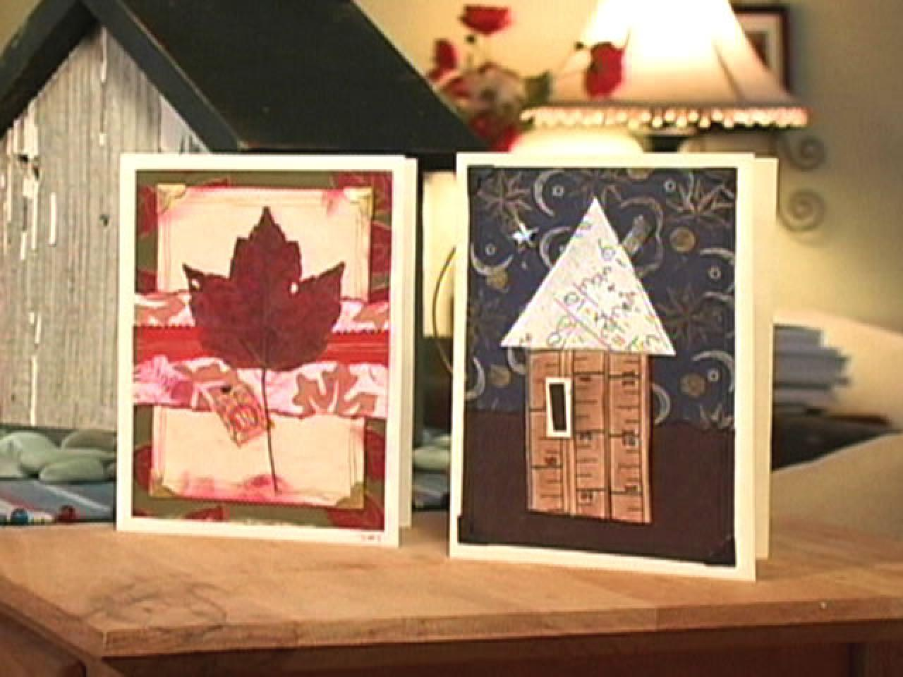 How to make collage greeting card designs hgtv Make home design
