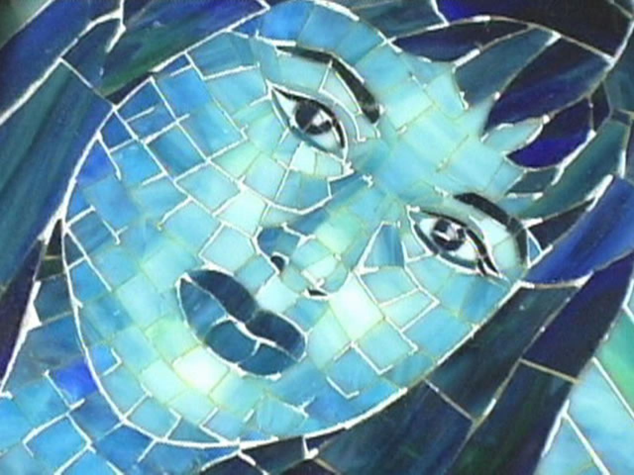 How To Make A Mosaic Stained Glass Portrait Hgtv