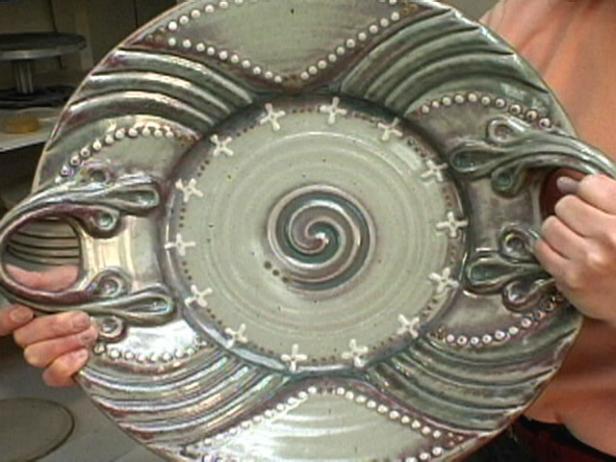How To Make An Ornate Ceramic Platter Hgtv