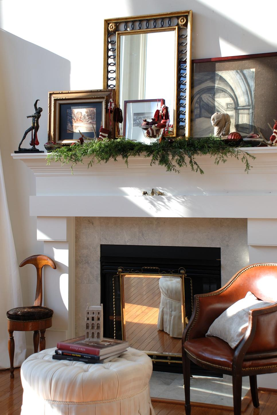 Fireplace decor hearth design tips hgtv Decorative hearth