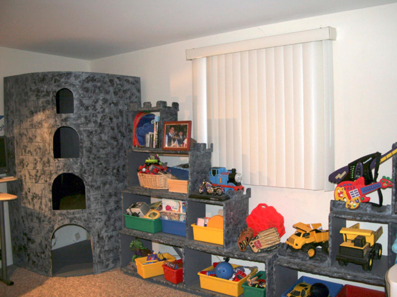 Building A Toy Storage Unit Hgtv
